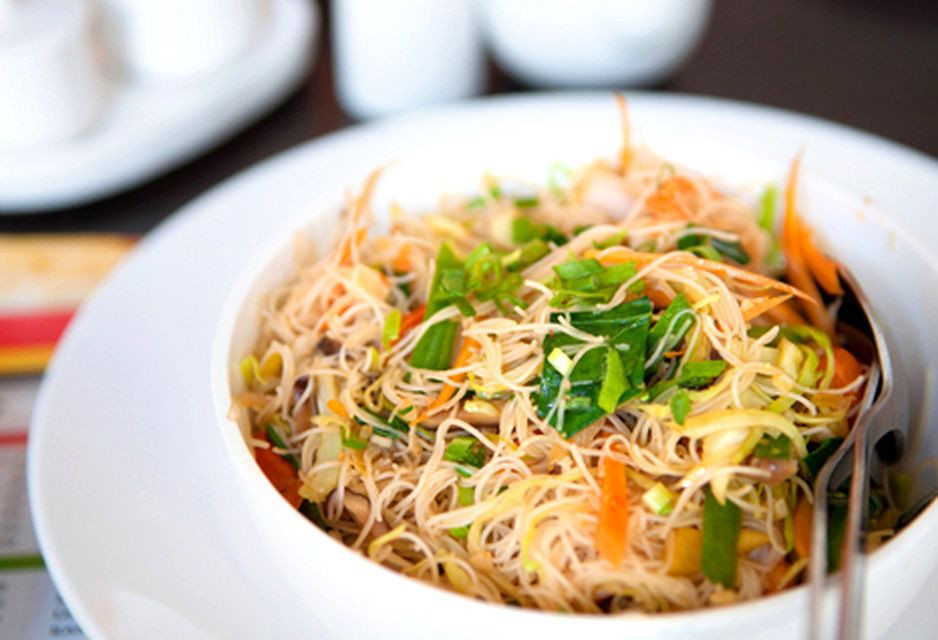 Thai Rice Noodles  Easy Gluten Free Vegan Thai Fried Rice Noodles
