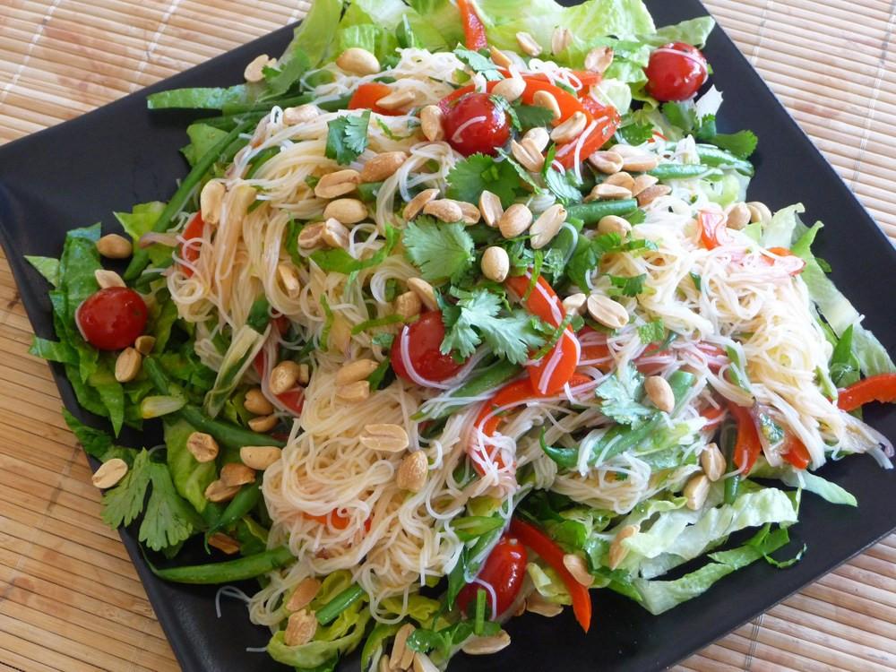 Thai Rice Noodles  Thai Rice Noodle Salad Fresh Versatile Ve arian