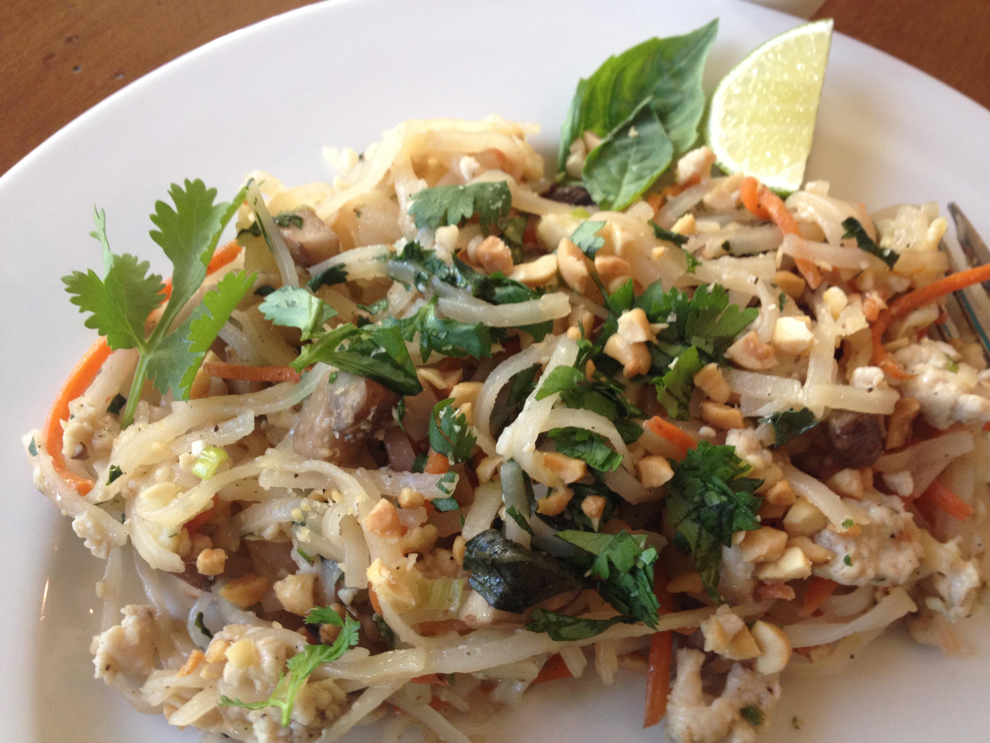 Thai Rice Noodles  Thai Rice Noodles With Ground Chicken