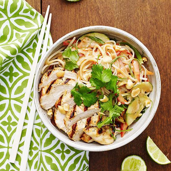 Thai Rice Noodles  Thai Rice Noodle Bowl