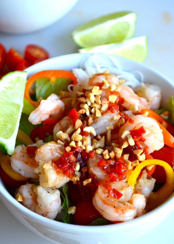 Thai Shrimp Salad  Rachel Schultz THAI SHRIMP SALAD