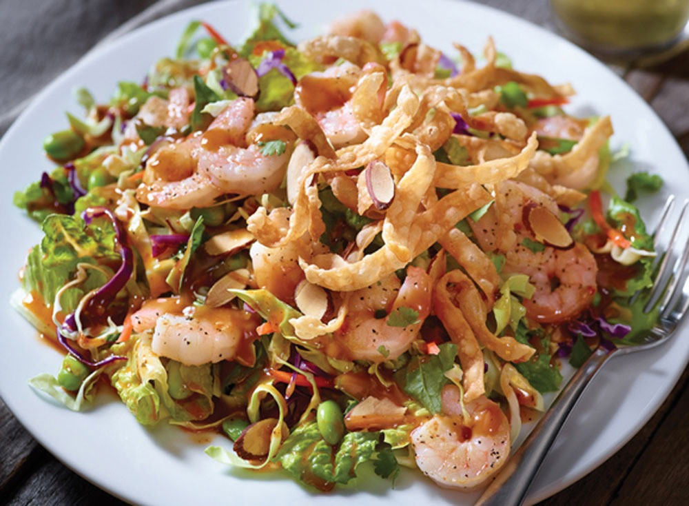 Thai Shrimp Salad  15 Things to Know About Applebees Nutrition