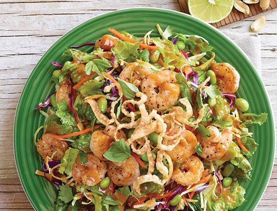 Thai Shrimp Salad  Thai shrimp Shrimp salads and Oriental salad on Pinterest