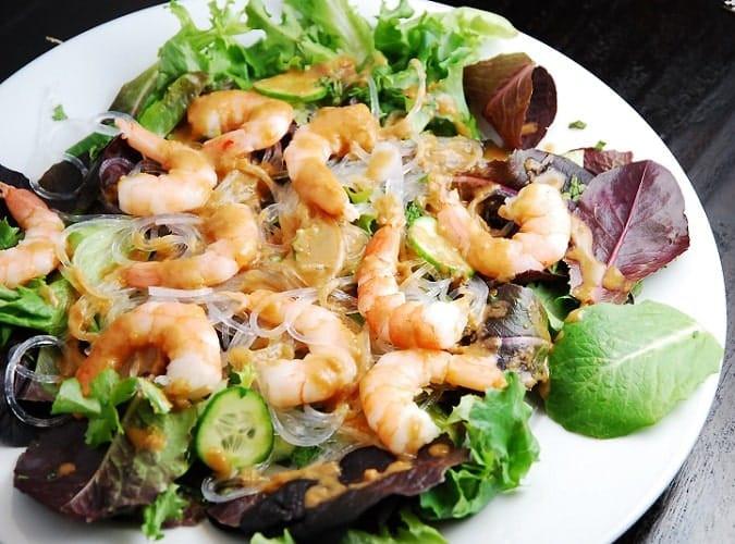 Thai Shrimp Salad  Thai Shrimp Salad Recipe – 5 Points LaaLoosh