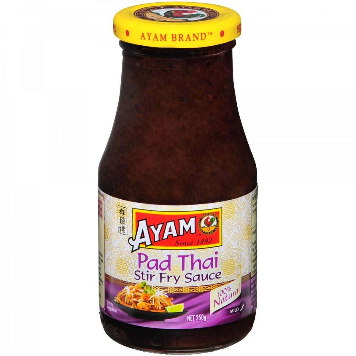 Thai Stir Fry Sauces  Pad Thai Stir Fry Sauce 250g x 6 Stir Fry Sauces Shop