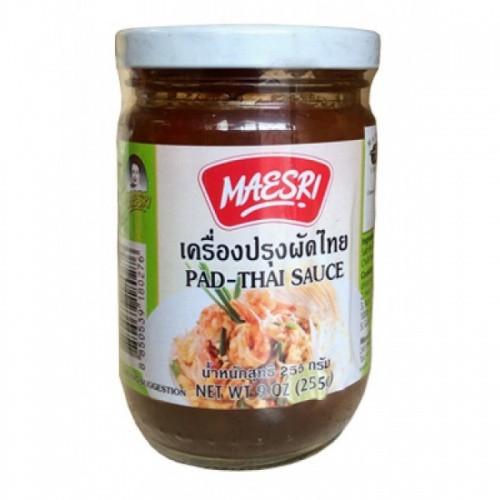 Thai Stir Fry Sauces  MaeSri Pad Thai Stir Fry Sauce 24 x 255g Essence of Thailand