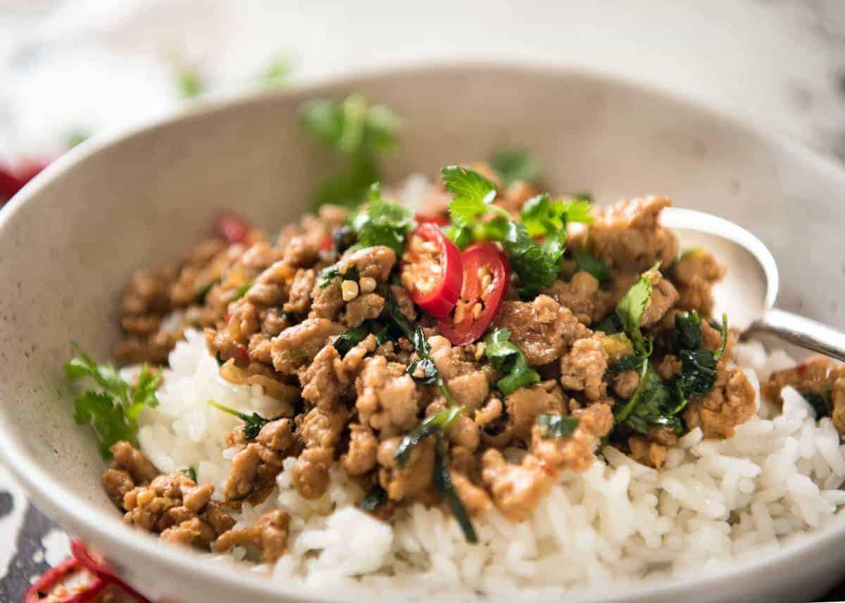 Thai Stir Fry Sauces  Spicy Thai Chicken Stir Fry