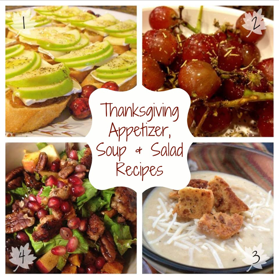 Thanksgiving Appetizers Recipes  Thanksgiving Recipe Roundup