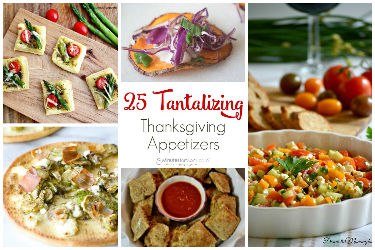 Thanksgiving Appetizers Recipes  25 Tantalizing Thanksgiving Appetizer Recipes 5 Minutes