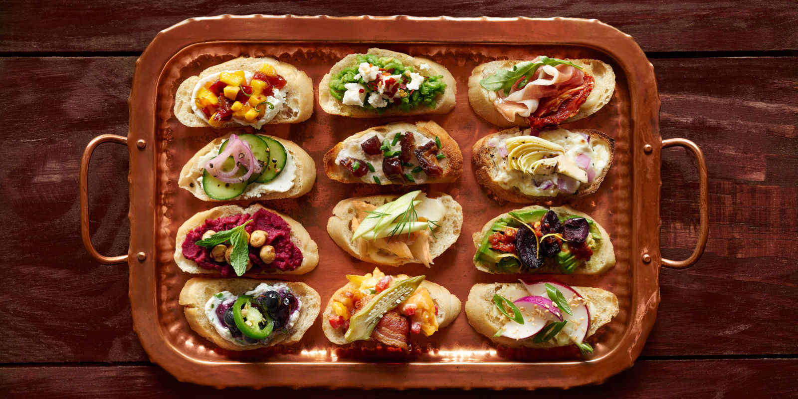 Thanksgiving Appetizers Recipes  12 Easy Crostini Recipes Ideas for Crostini Appetizers