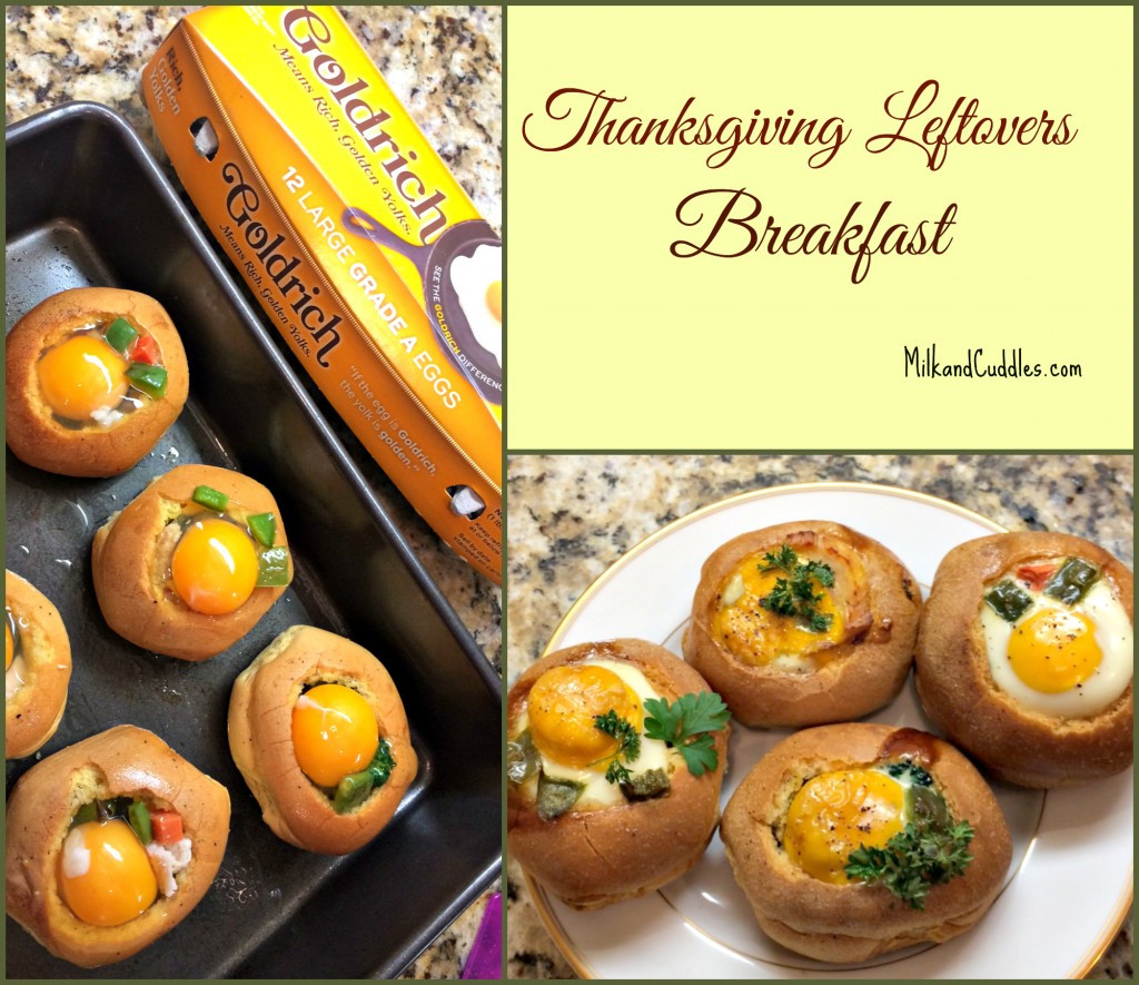 Thanksgiving Breakfast Ideas  Thanksgiving Leftovers Breakfast Bread Bowls Everyday Best