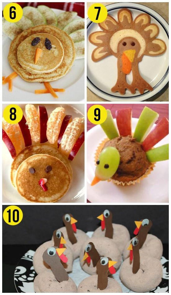 Thanksgiving Breakfast Ideas  50 Fun Thanksgiving Food Ideas & Turkey Treats The