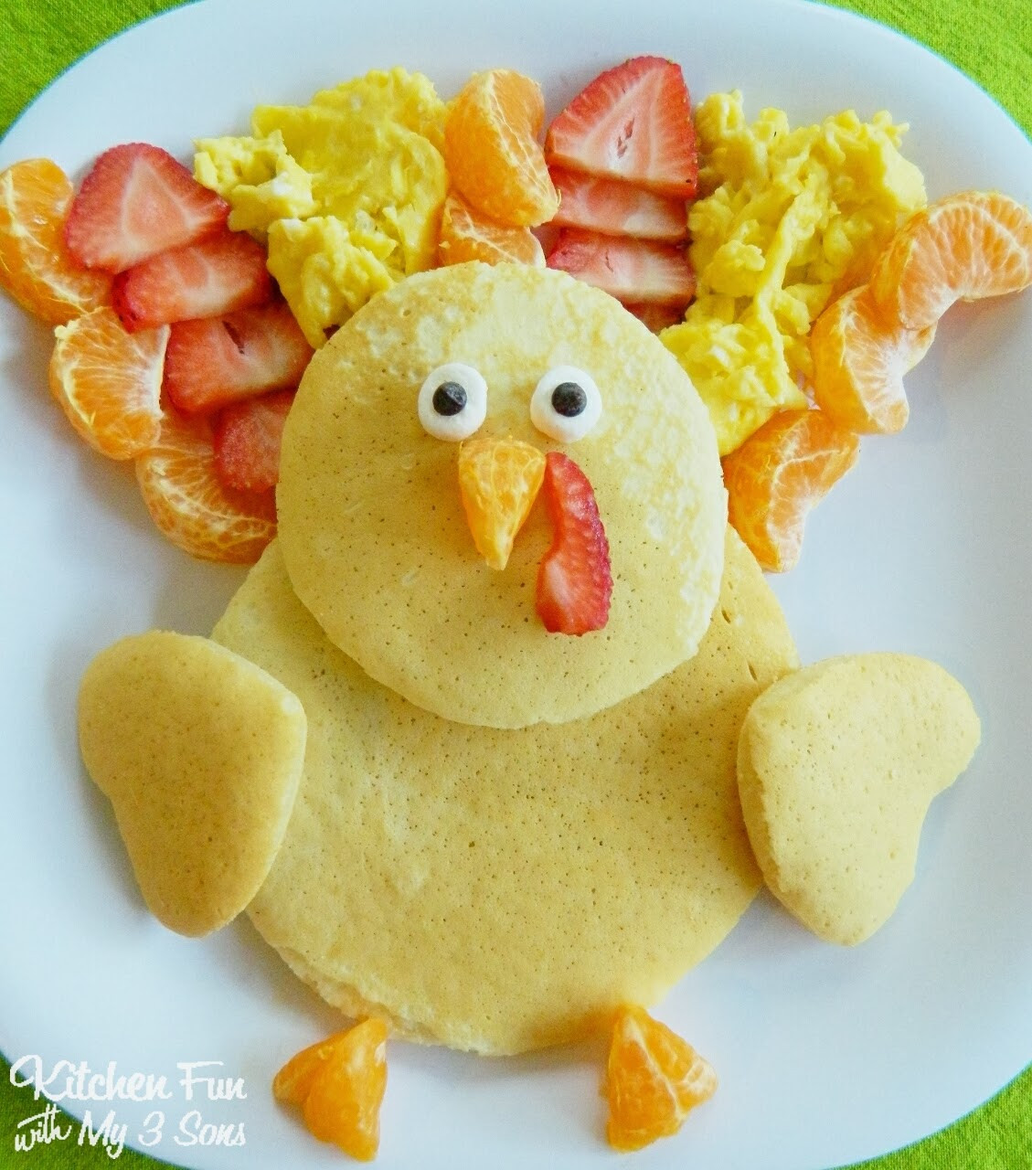 Thanksgiving Breakfast Ideas  Thanksgiving Turkey Pancakes for Breakfast Kitchen Fun