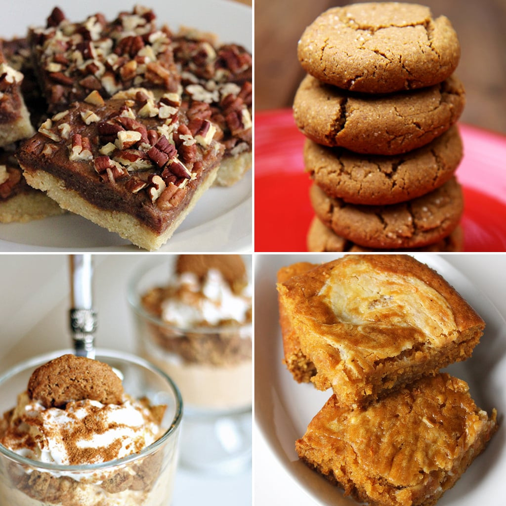 Thanksgiving Desserts Ideas  Healthy Thanksgiving Dessert Recipes