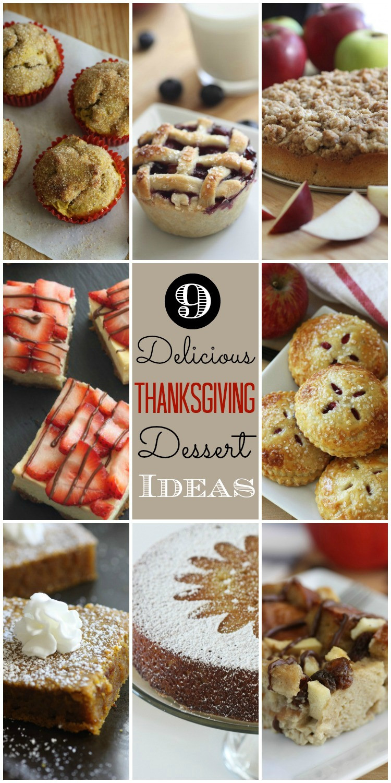Thanksgiving Desserts Ideas  Last Minute Thanksgiving Dessert Ideas