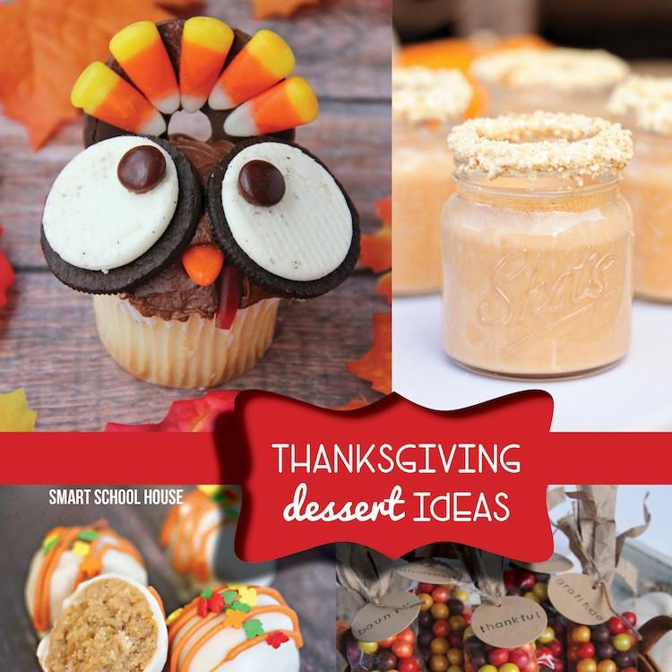 Thanksgiving Desserts Ideas  Thanksgiving Dessert Ideas