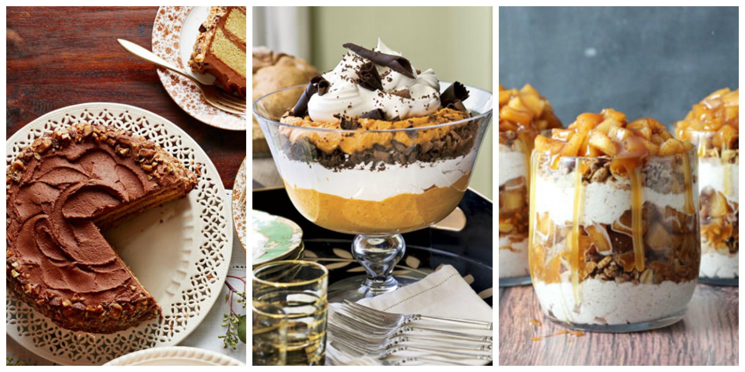 Thanksgiving Desserts Ideas  40 Easy Thanksgiving Desserts Recipes Best Ideas for