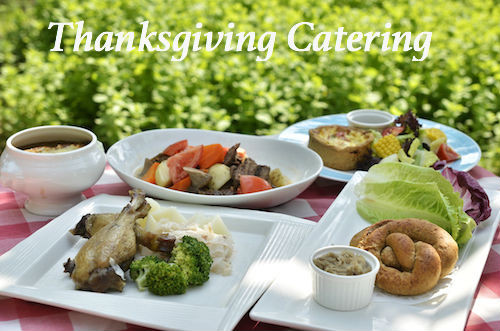 Thanksgiving Dinner Catering  Holiday Catering Los Angeles Holiday Caterers Full