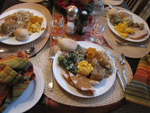 Thanksgiving Dinner Catering  Southland Caterers