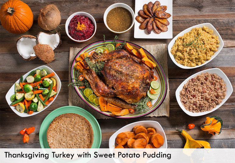 Thanksgiving Dinner Catering  Thanksgiving Catering Back A Yard American & Caribbean