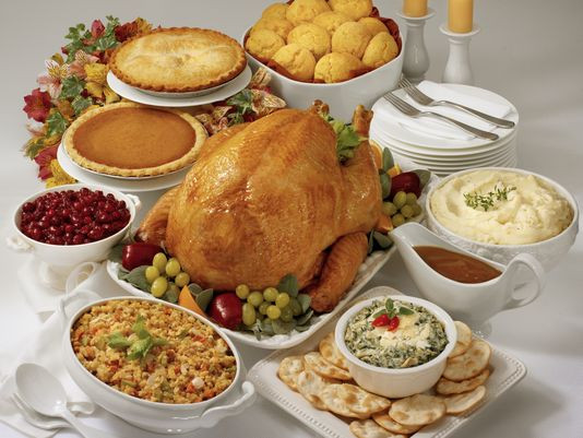 Thanksgiving Dinner For One  Homemade Thanksgiving gives way to easy takeout