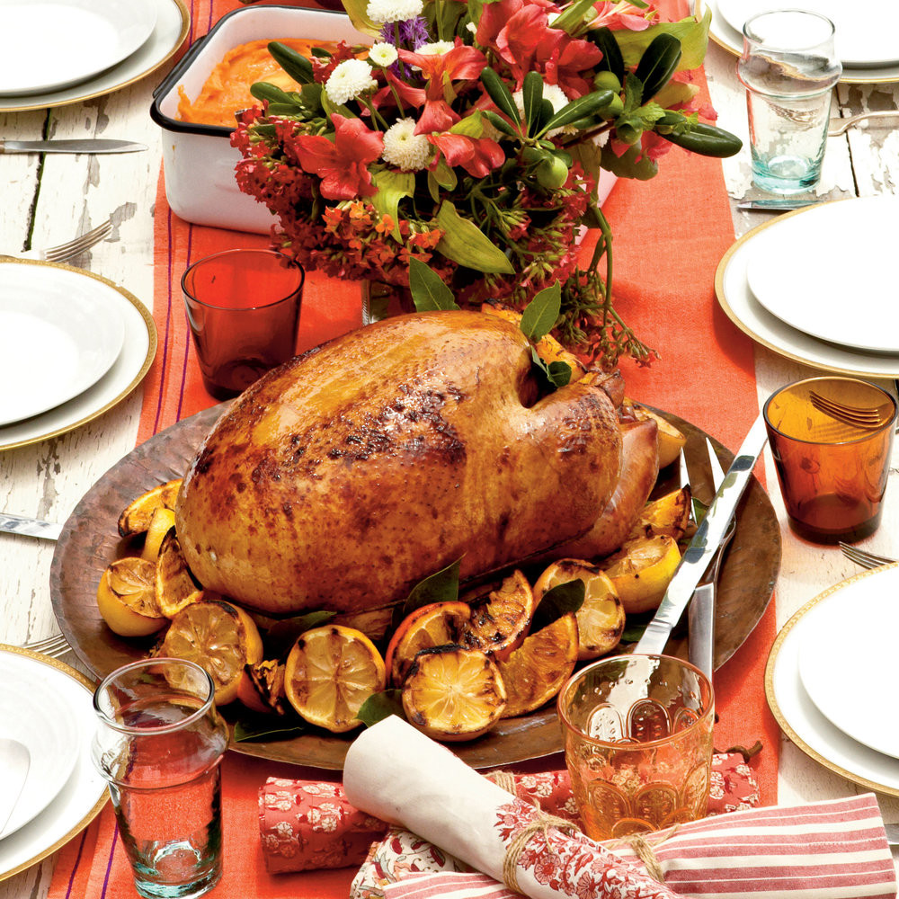 Thanksgiving Dinner For One  Holiday Dinner Main Dish Recipes Coastal Living
