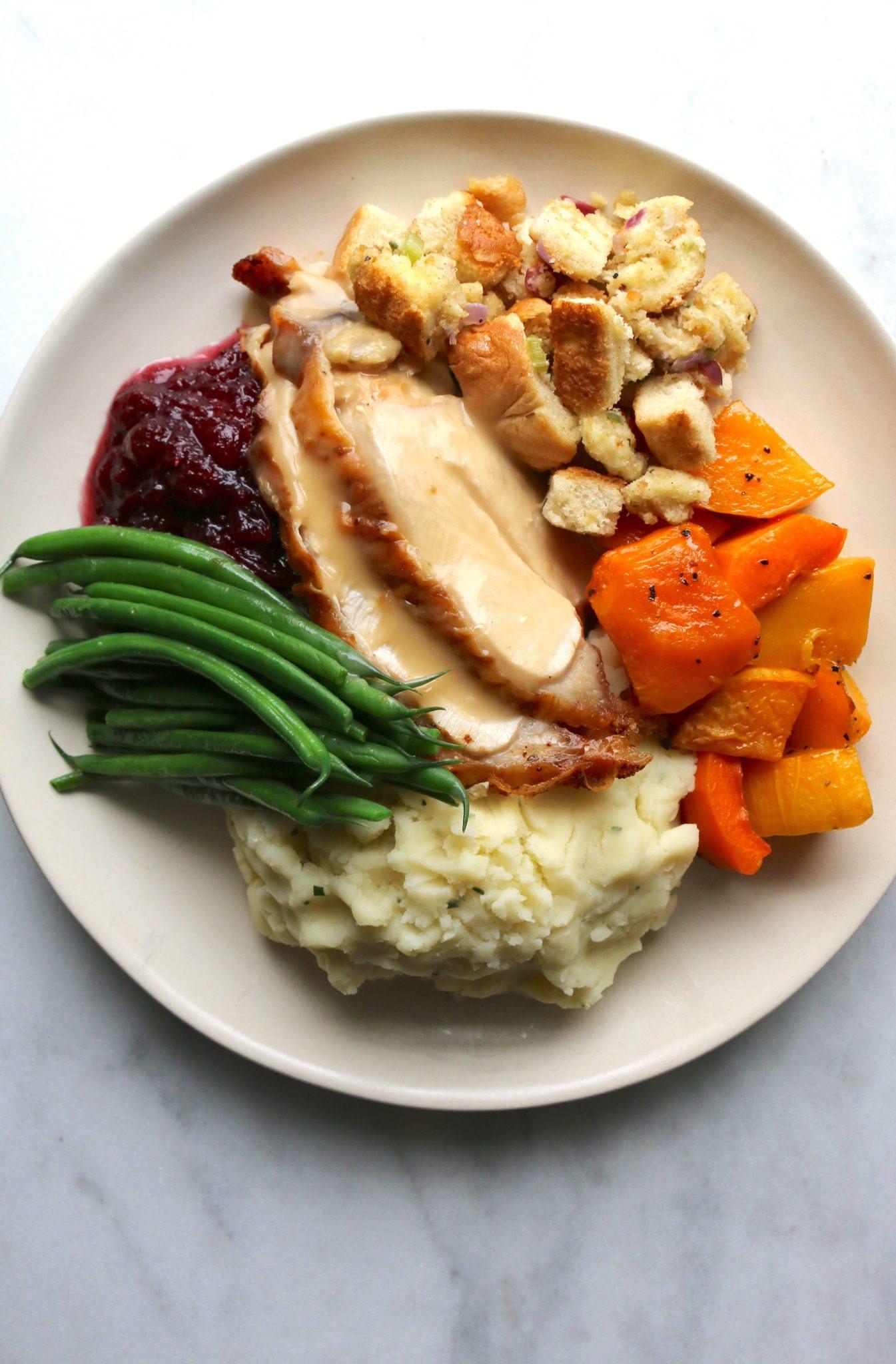 Thanksgiving Dinner For One  Turkey Dinner Summerhill Market