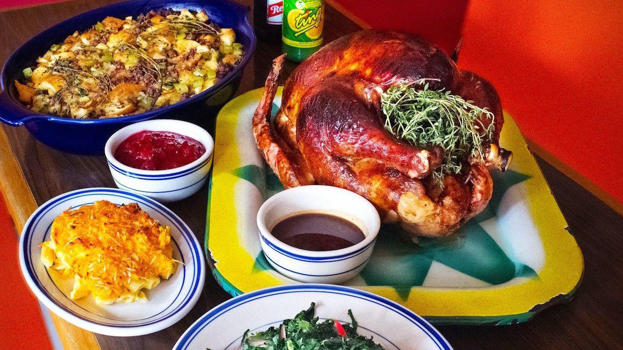 Thanksgiving Dinner For One  NYC restaurants serving Thanksgiving dinner
