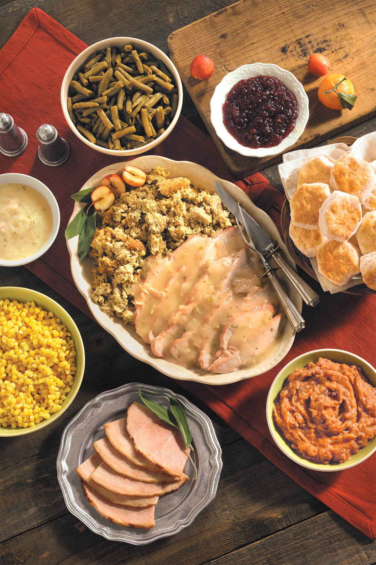 Thanksgiving Dinner For One  Cracker Barrel to Serve 1 4 Million Meals This