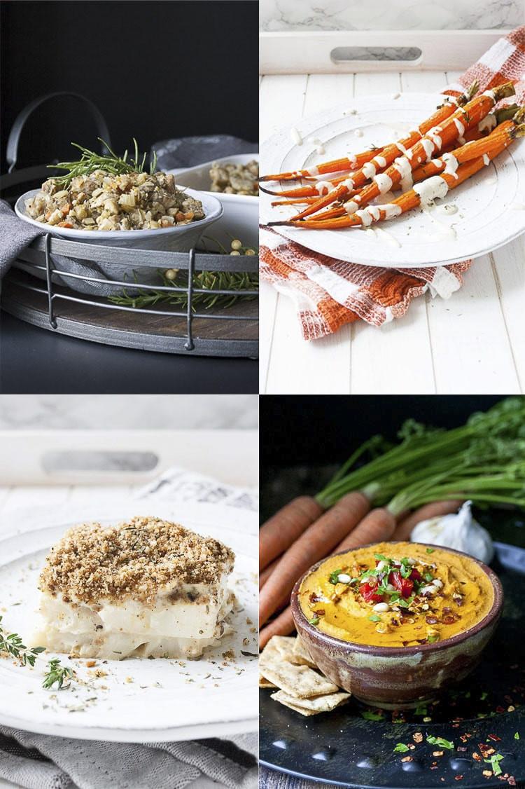 Thanksgiving Dinner For One  Easy Vegan Thanksgiving Dinner with Shopping List Veggies