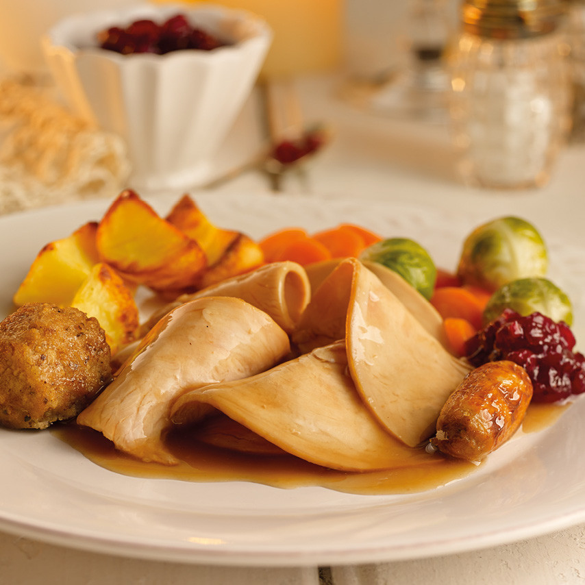 Thanksgiving Dinner For One  Roast Turkey Dinner Ready Meal