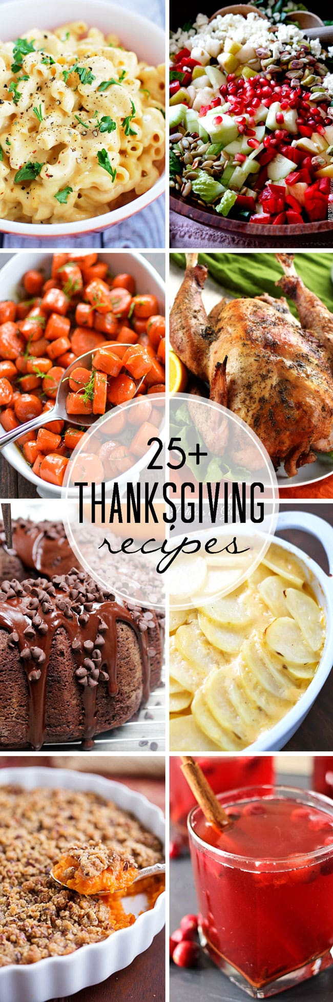 Thanksgiving Dinner Ideas Pinterest  25 Thanksgiving Recipes Easy Peasy Meals