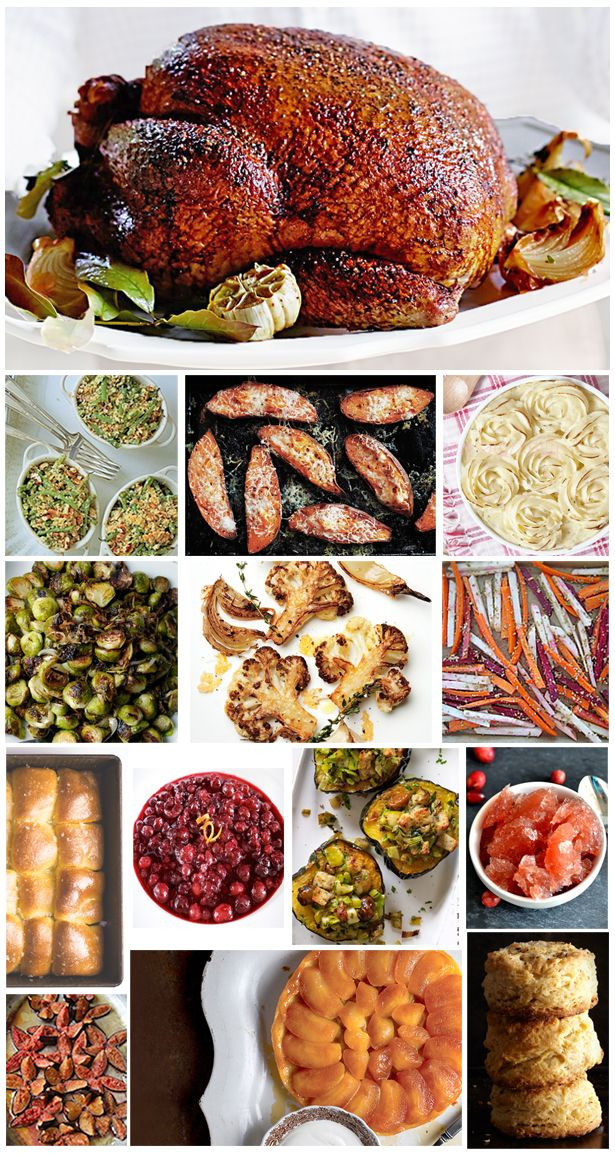 Thanksgiving Dinner Ideas Pinterest  Thanksgiving & Holiday Dinner Ideas Recipes