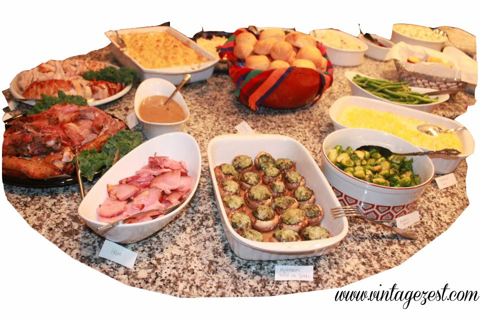 Thanksgiving Dinner Menu Ideas  Thanksgiving Menu Ideas Diane s Vintage Zest