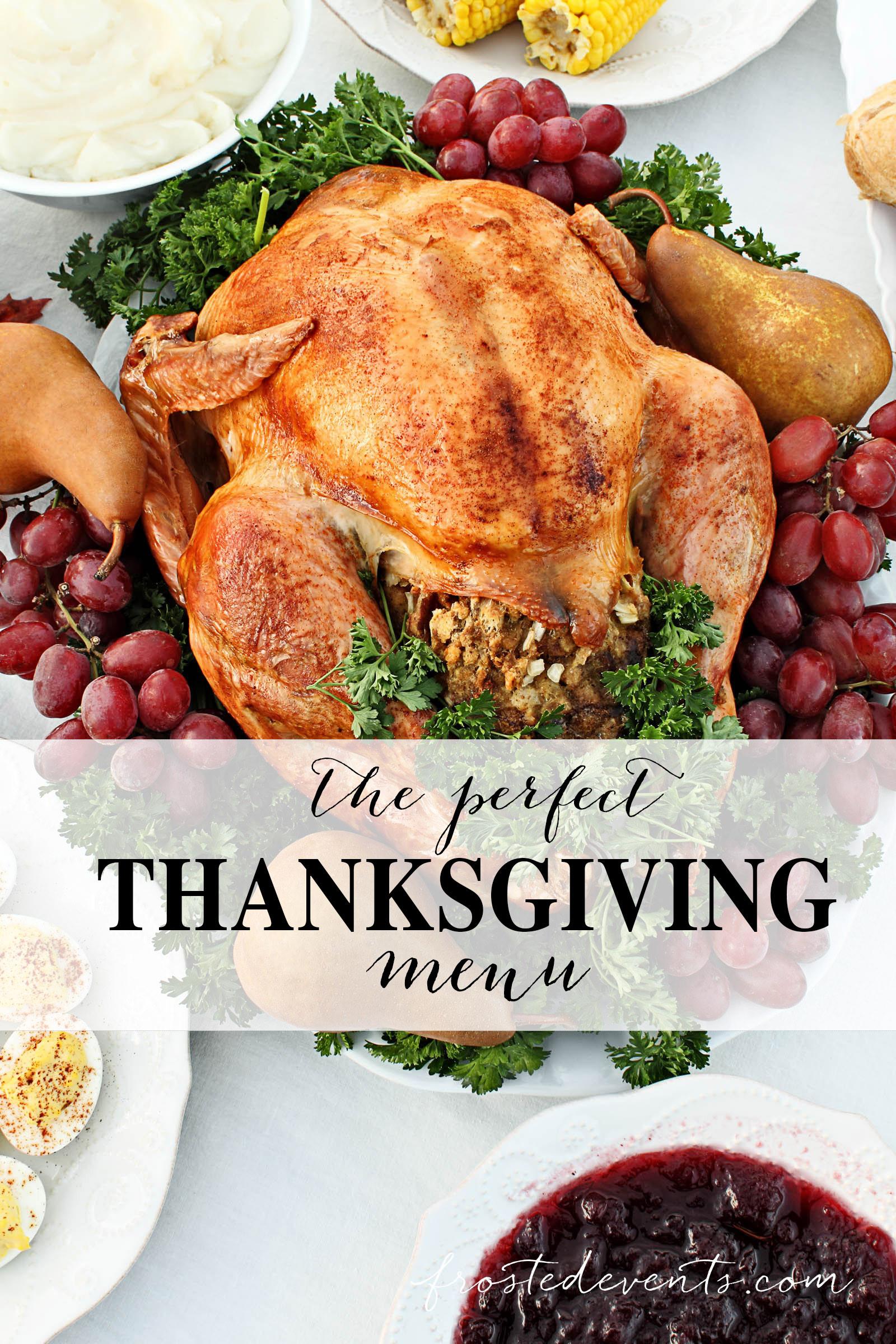 Thanksgiving Dinner Menu Ideas  Thanksgiving Dinner Menu Ideas What to Serve