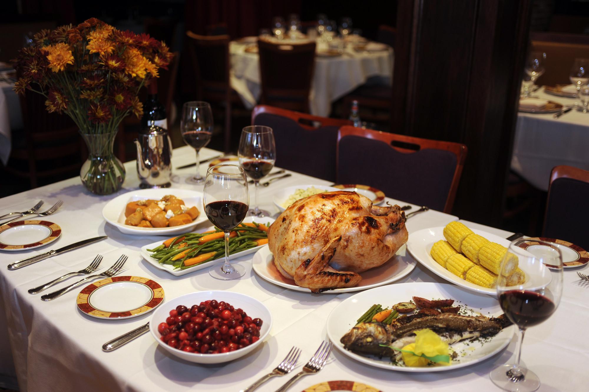 Thanksgiving Dinner Restaurants  Where to dine on Thanksgiving Day in Baltimore