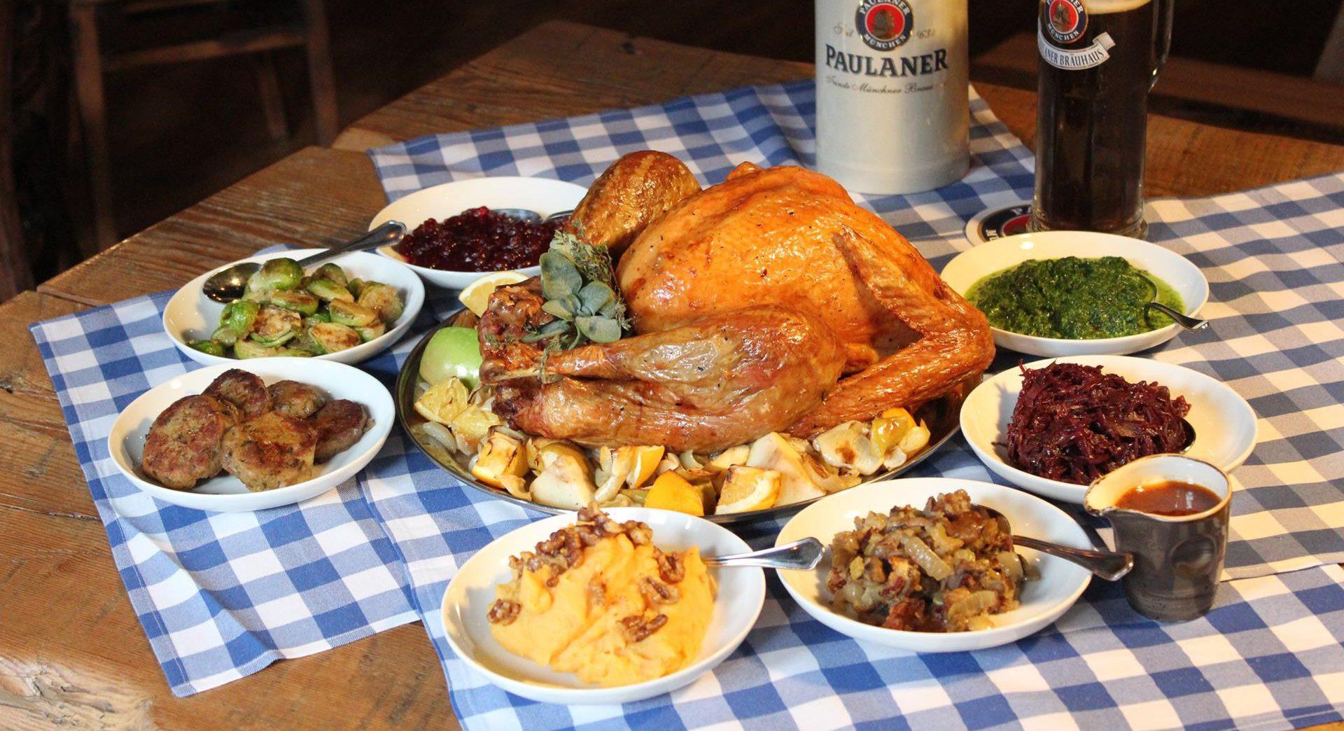 Thanksgiving Dinner Restaurants  Thanksgiving To Go Best Restaurant Delivery Services In