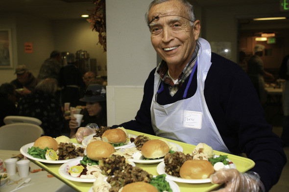 Thanksgiving Dinner San Diego  Thanksgiving at the San Diego Rescue Mission