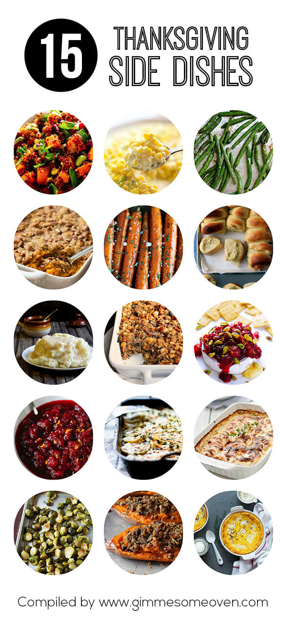Thanksgiving Dinner Sides  15 Thanksgiving Side Dishes