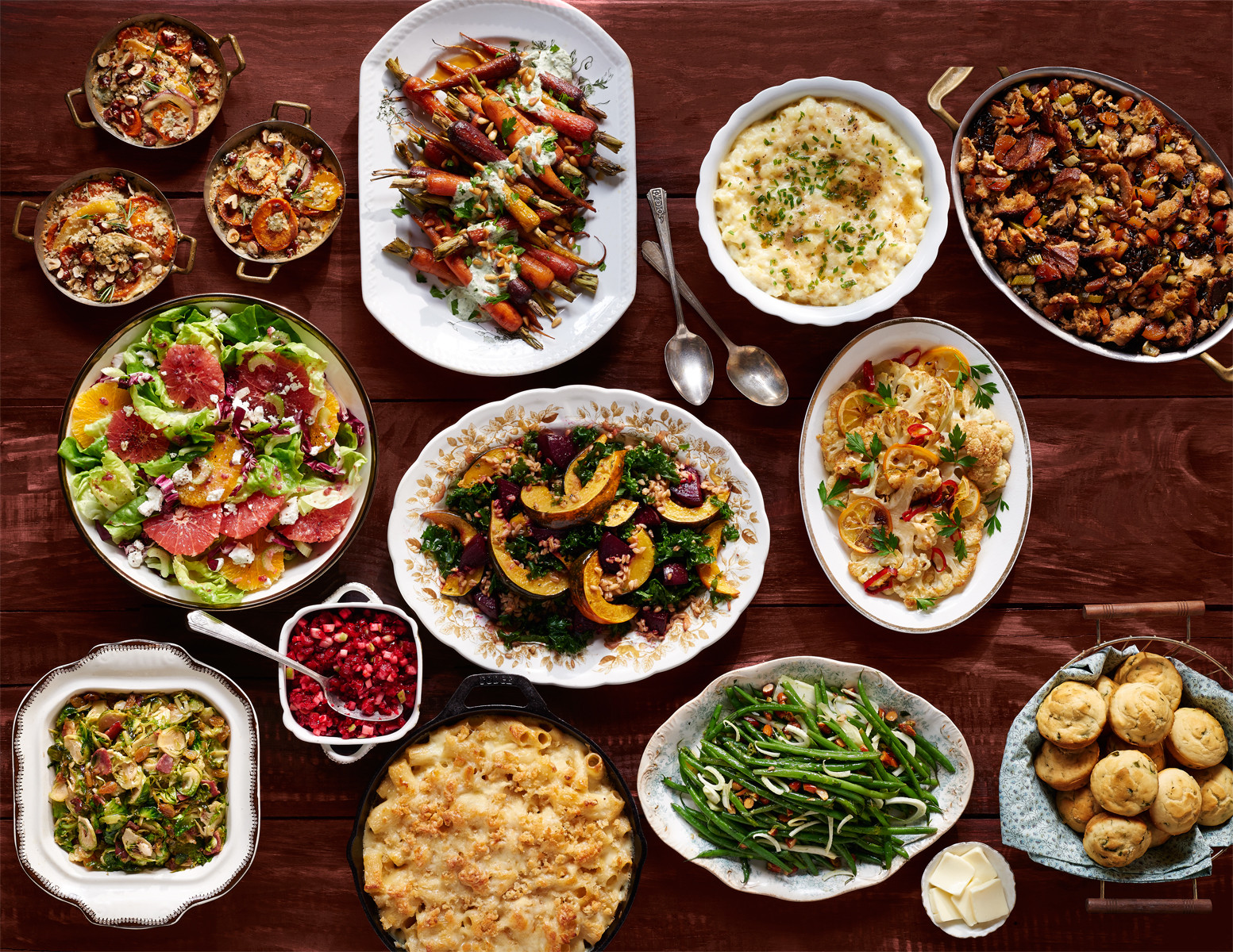 Thanksgiving Dinner Sides  100 Easy Thanksgiving Side Dishes Best Recipes for