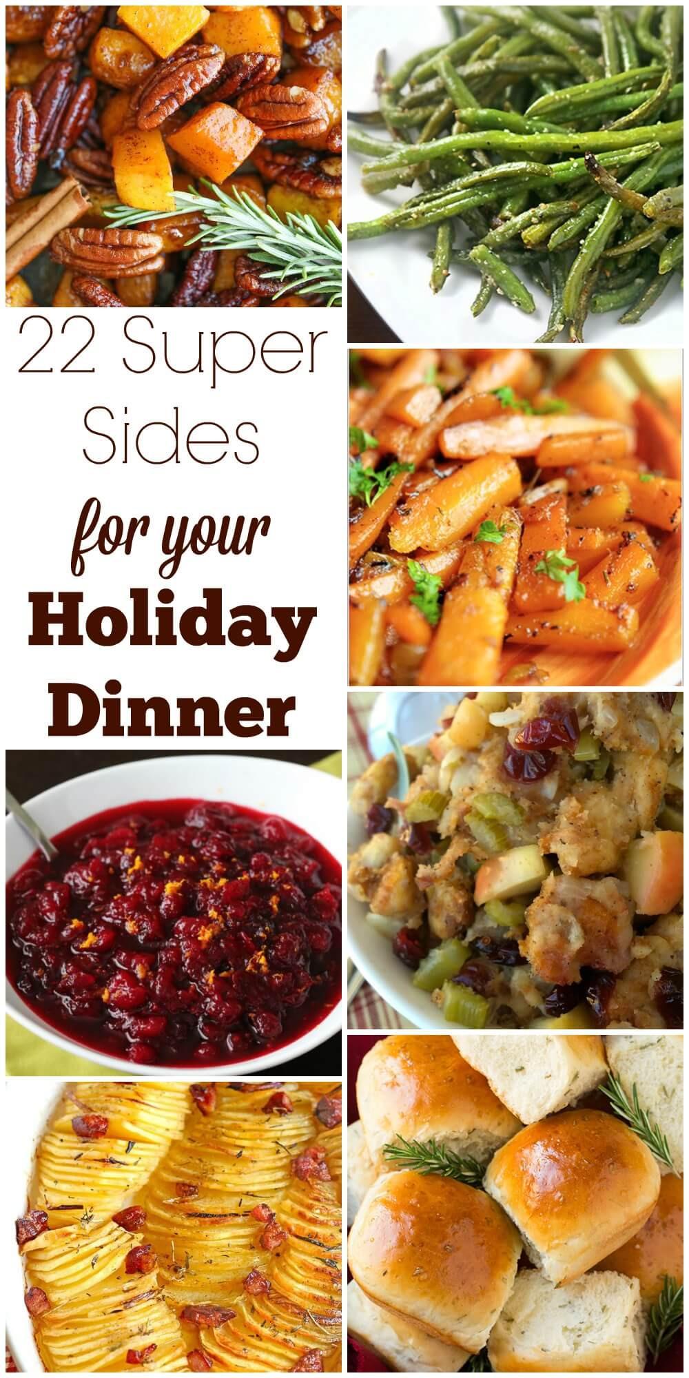 Thanksgiving Dinner Sides  22 Super Sides for Your Holiday Dinner