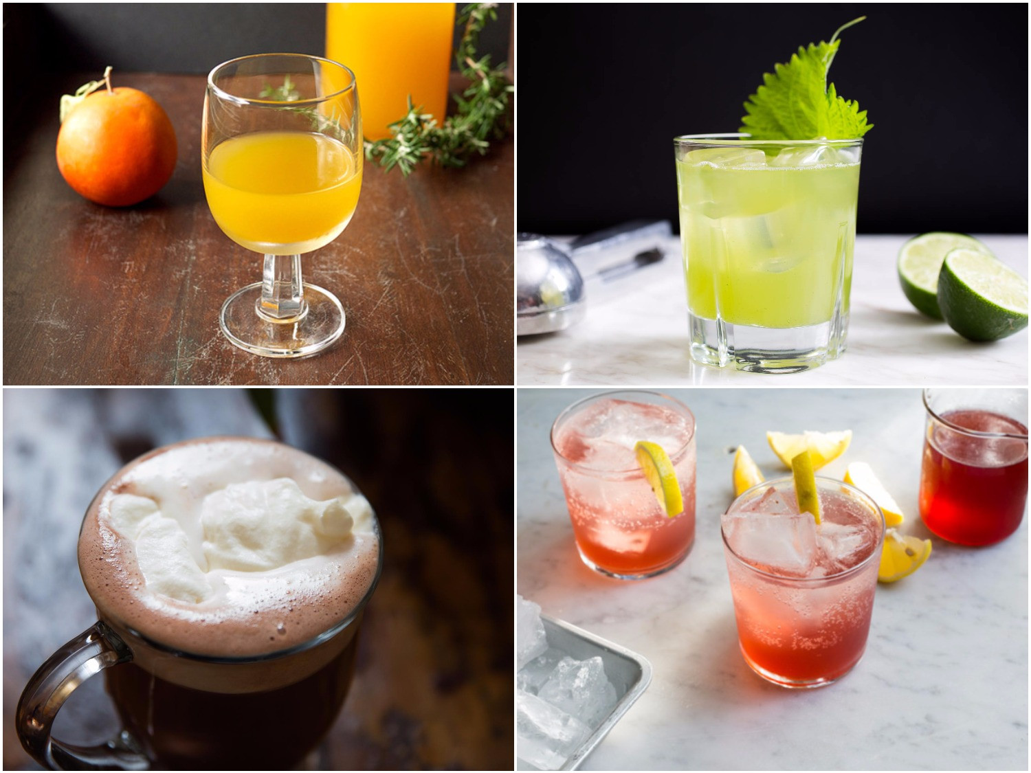 Thanksgiving Mixed Drinks  11 Nonalcoholic Thanksgiving Drink Recipes