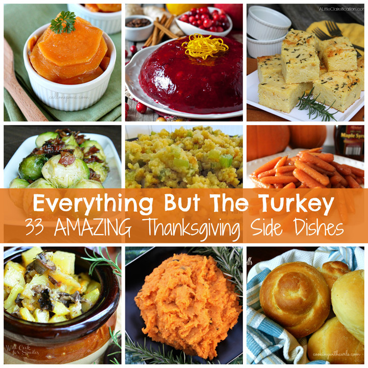 Thanksgiving Side Dishes  Everything But The Turkey