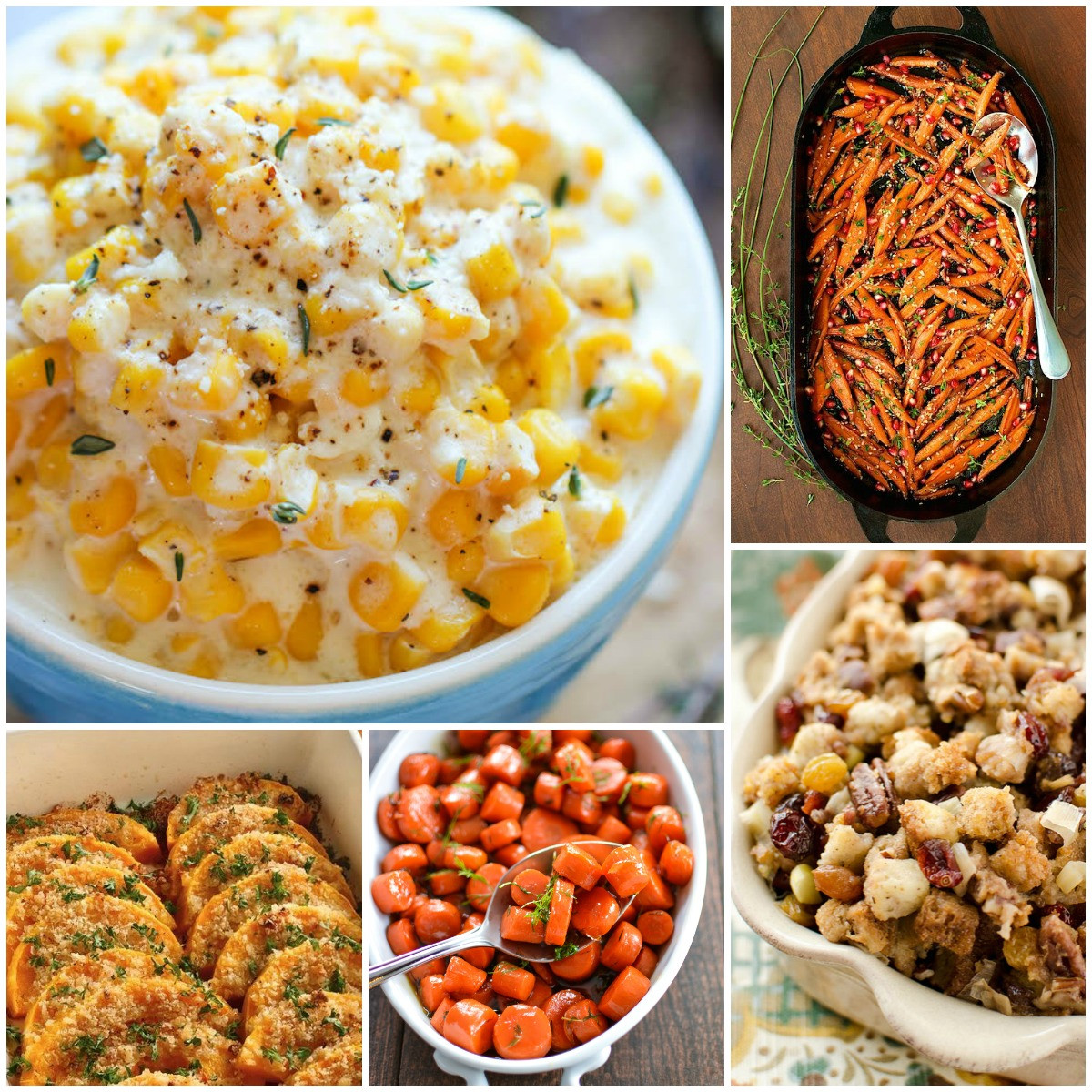 Thanksgiving Side Dishes  25 Most Pinned Side Dish Recipes for Thanksgiving and