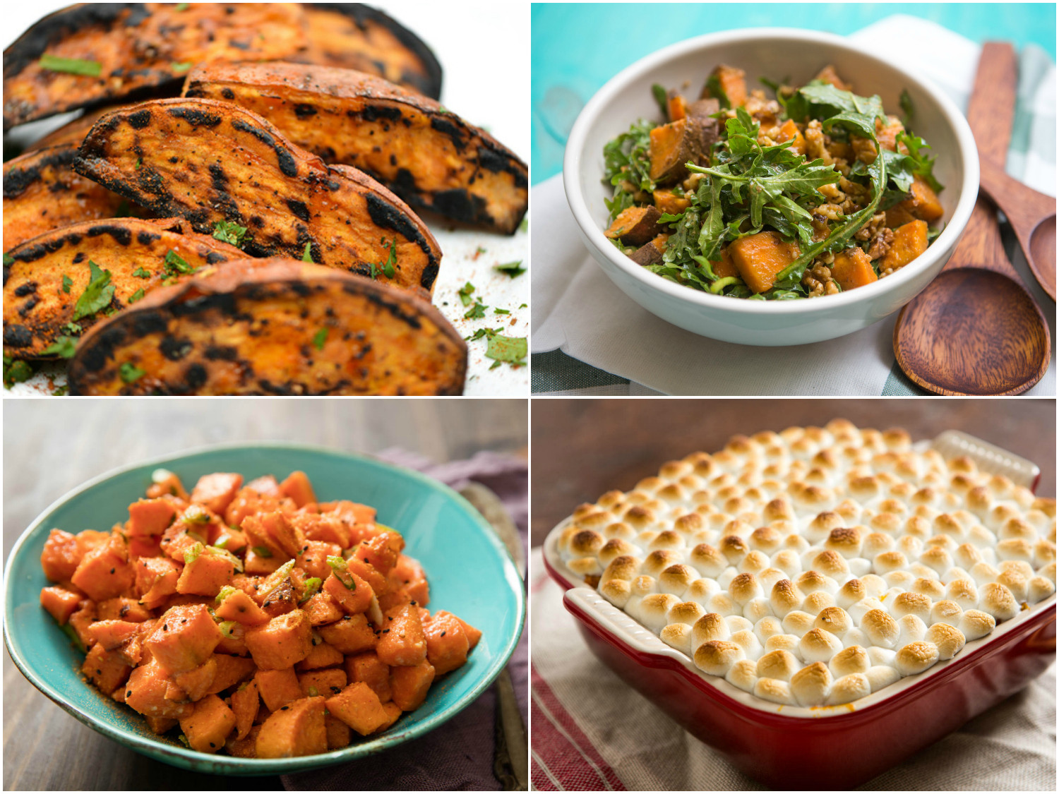 Thanksgiving Sweet Potato Recipes  savory sweet potato recipes