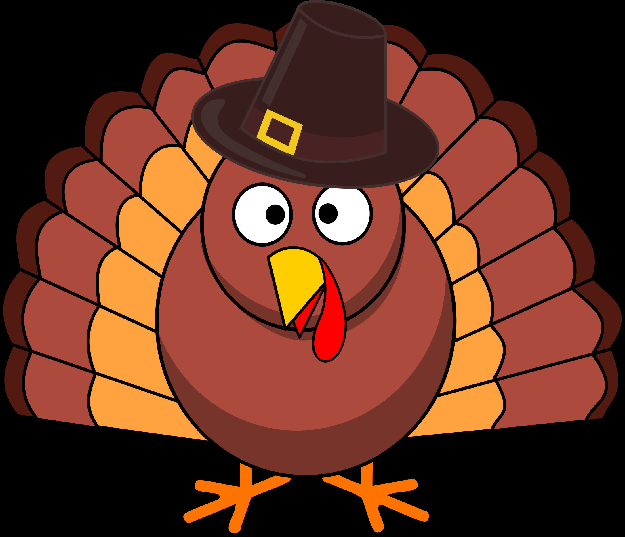 Thanksgiving Turkey Clip Art  Try timing your Thanksgiving turkey the Spotify way It's