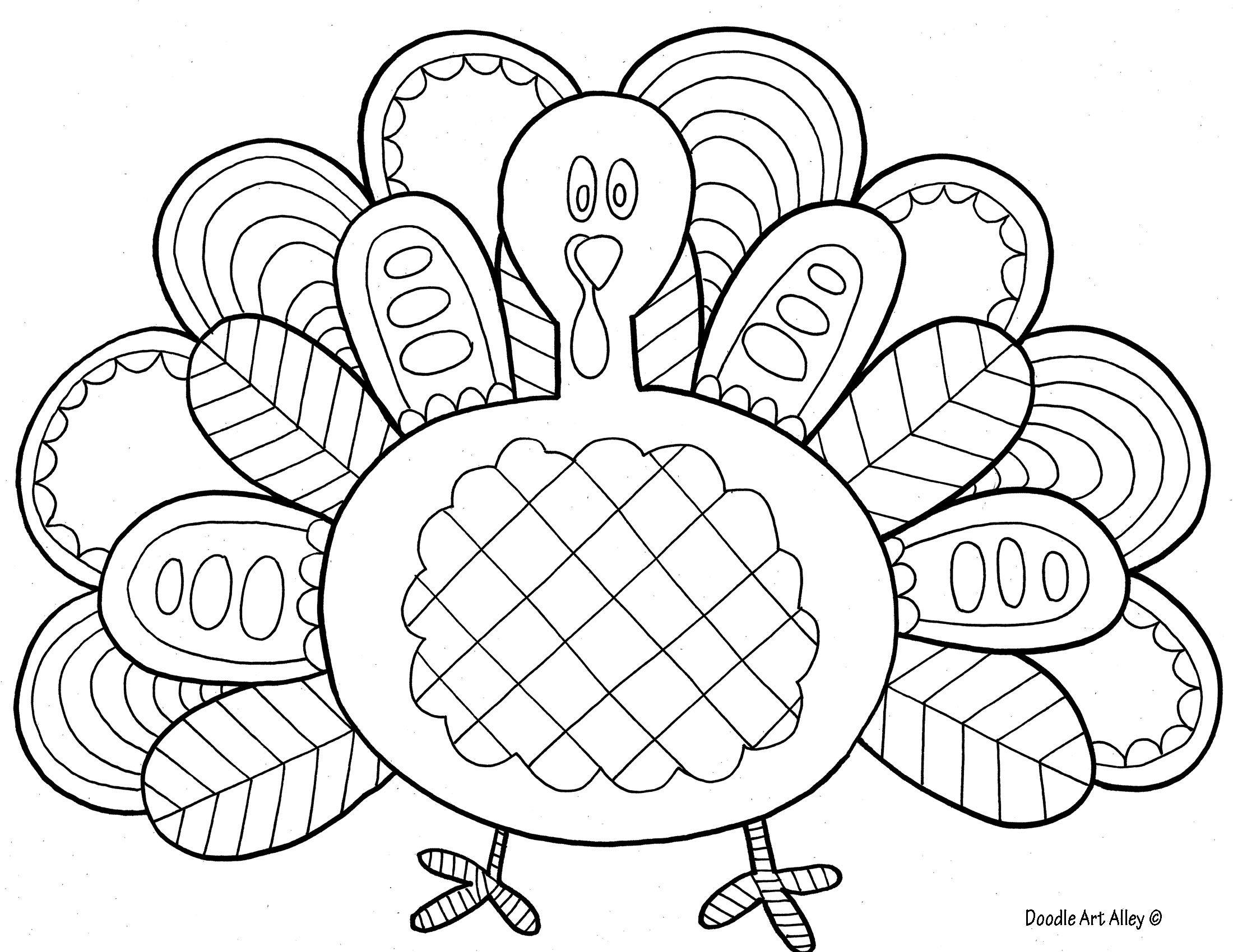 Thanksgiving Turkey Coloring Pages  Bird Coloring Pages