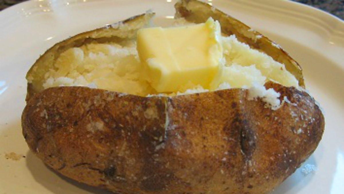 The Baked Potato  Perfect Baked Potato Recipe No Foil Baked Potato Method