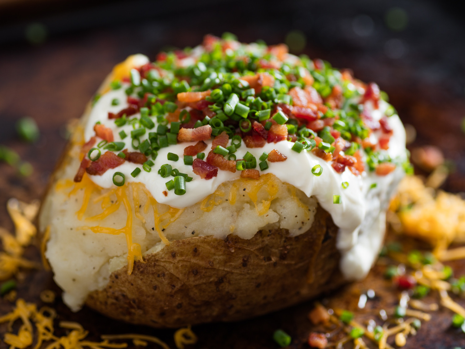 The Baked Potato  A Fully Loaded Guide to the Ultimate Baked Potato