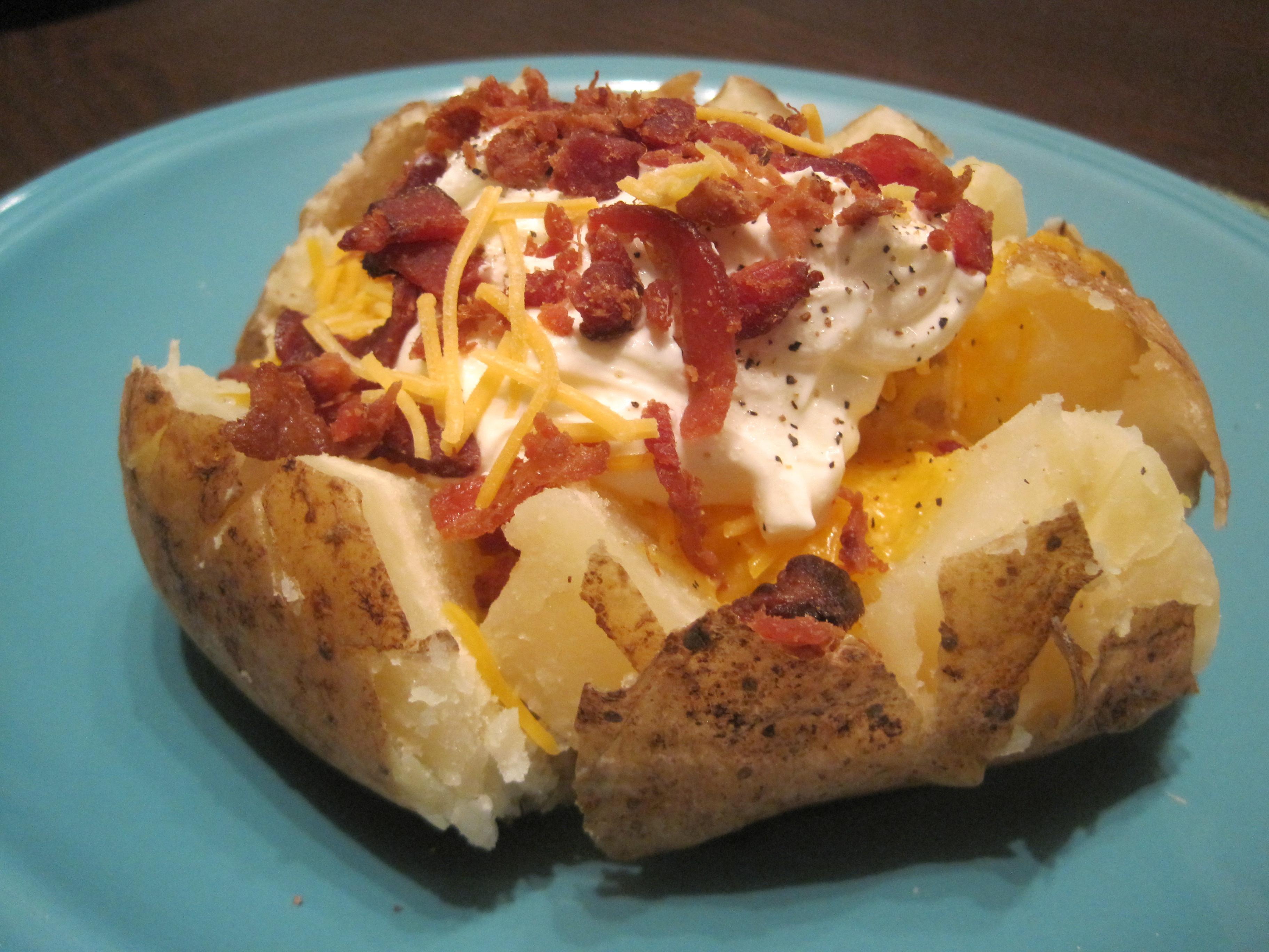 The Baked Potato  Good Potato Bad Potato and the Easy Baked Potato